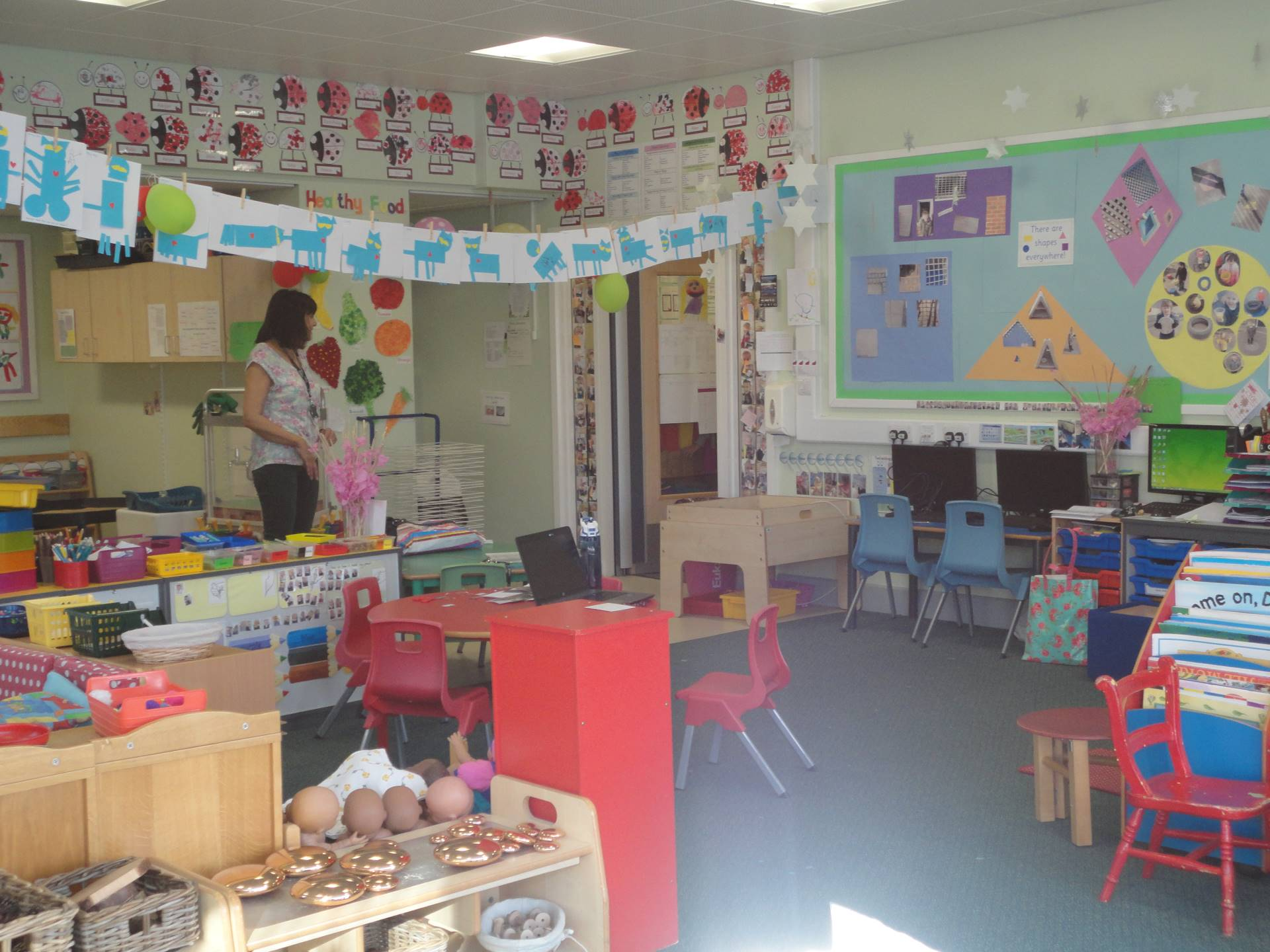 A photo of our new nursery classroom
